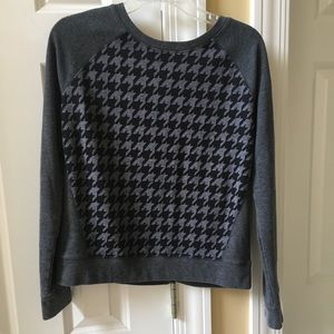 Patterned decree brand sweater